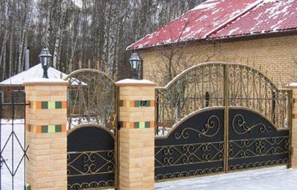 вьездные ворота и калитки