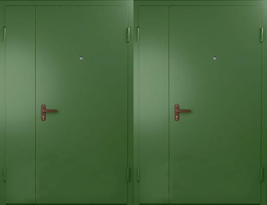Тамбурная дверь нитроэмаль арт. тбд-7