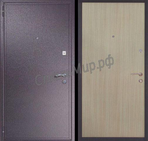 Дверь порошковое напыление и ламинат(трёхконтурная) арт. тку-4