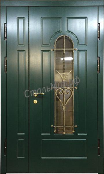 Дверь с ковкой   арт. м-61
