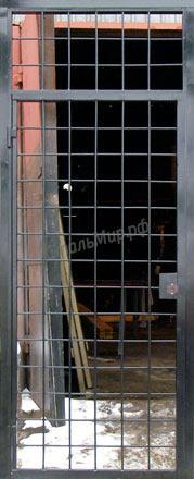 Модель СПЕЦ-3   Решётчатая дверь