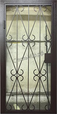 Модель СПЕЦ-5  Решётчатая дверь