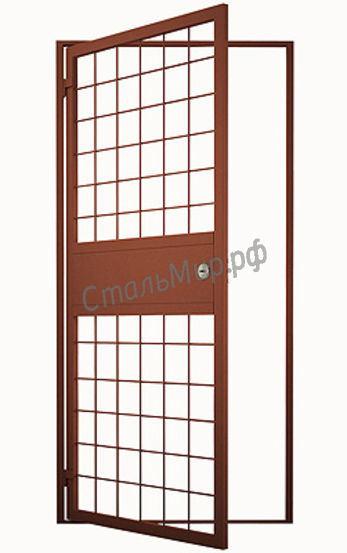 Модель СПЕЦ-11 Решётчатая дверь