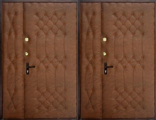 Тамбурная дверь винилискожа(дутая) арт. тбд-5