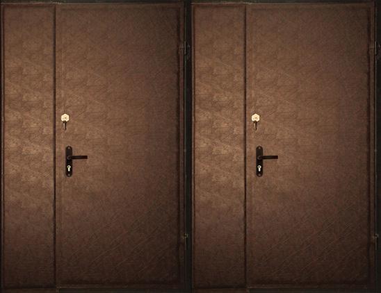Тамбурная дверь винилискожа  арт. тбд-1
