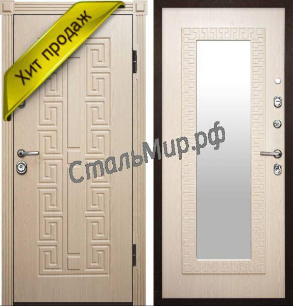 Дверь МДФ с зеркалом арт.м-50