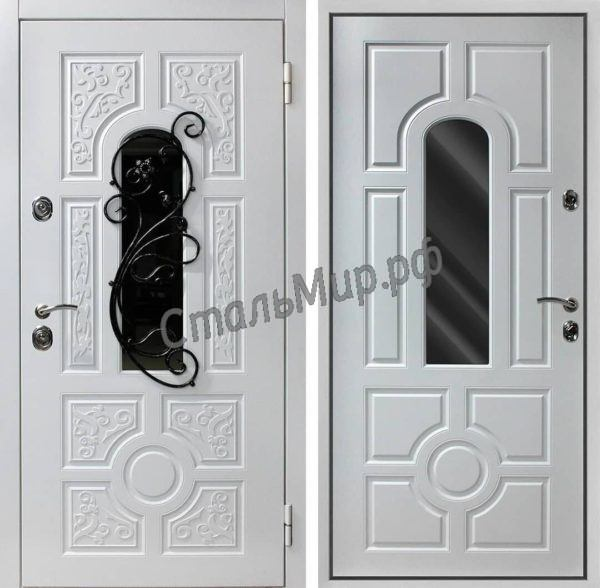 Дверь с ковкой арт.пд-47