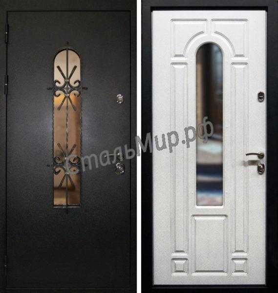 Дверь с ковкой   арт. м-29