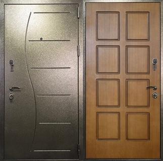Дверь порошковое напыление и МДФ арт.м-48