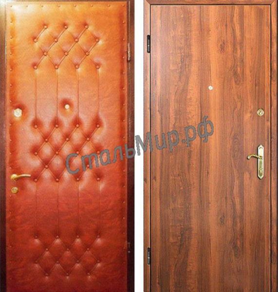 Дверь винилискожа и ламинат  арт.двк-11
