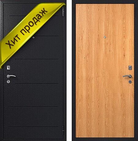 Дверь порошковое и напыление и ламинат арт.двк-7
