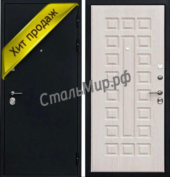 Дверь Порошковое напыление и МДФ арт. хп-45